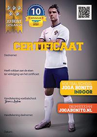 Certificaat Cristiano Ronaldo