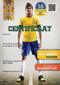 Certificaat Neymar